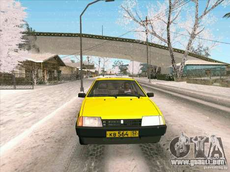 VAZ 21093i TMK Afterburner para visión interna GTA San Andreas