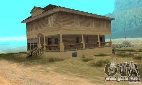 Área en el desierto para GTA San Andreas sucesivamente de pantalla