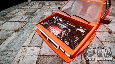 Lancia Delta HF 4WD para GTA 4 visión correcta