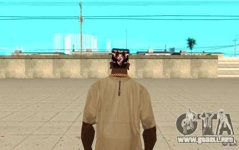 Superman bandana para GTA San Andreas tercera pantalla