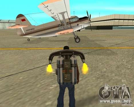 Antonov an-2 para la visión correcta GTA San Andreas