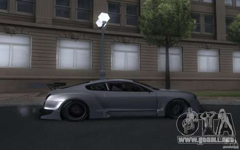 Bentley Continental Super Sport Tuning para la visión correcta GTA San Andreas
