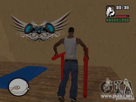 Training and Charging 2 para GTA San Andreas tercera pantalla