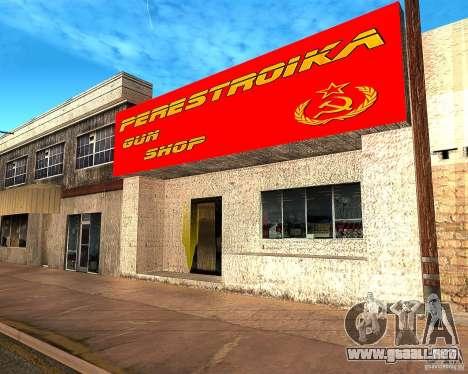 Almacena la reestructuración para GTA San Andreas