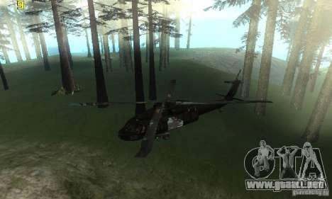 UH-60M Black Hawk para la visión correcta GTA San Andreas