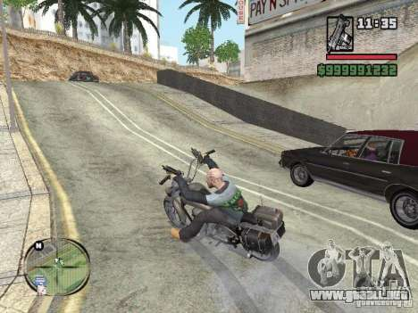 Vagos Biker para GTA San Andreas segunda pantalla