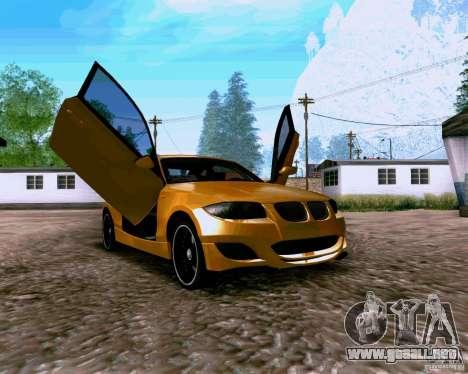 BMW 135 Tuning para la visión correcta GTA San Andreas