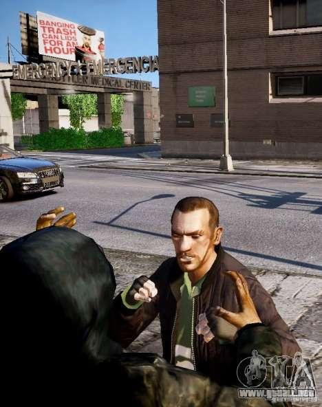 Bad Niko para GTA 4 octavo de pantalla