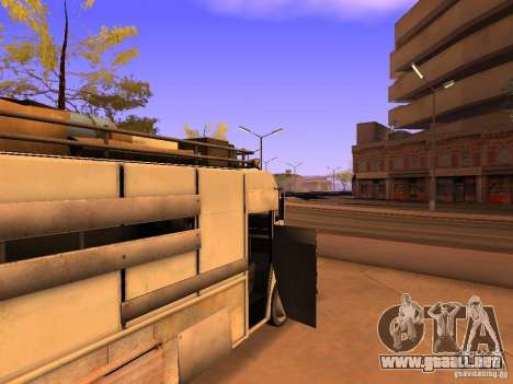 Monster Van para vista inferior GTA San Andreas