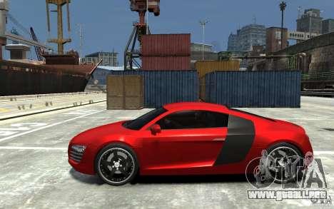 Audi R8 2008 para GTA 4 left