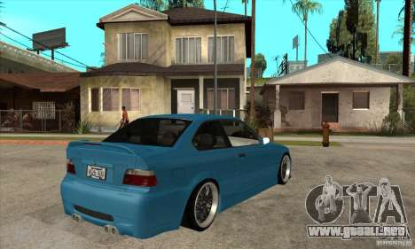 BMW M3 HAMMAN para la visión correcta GTA San Andreas