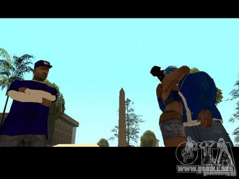 Piru Street Crips para GTA San Andreas décimo de pantalla