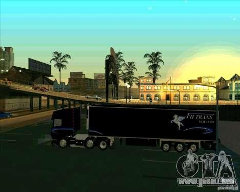 Scania R620 Pimped para GTA San Andreas left