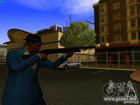 Remington 870 Action Express para GTA San Andreas sucesivamente de pantalla
