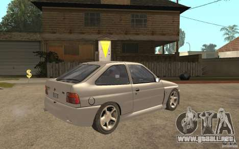 Ford Escort RS Cosworth 1992 para la visión correcta GTA San Andreas