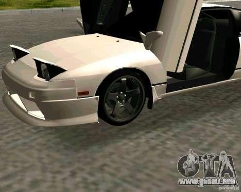 Nissan 240SX S13 para la visión correcta GTA San Andreas