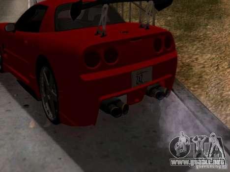 Chevrolet Corvette C5 para la visión correcta GTA San Andreas