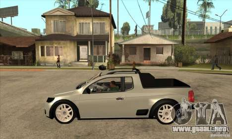 Volkswagen Saveiro G5 para GTA San Andreas left