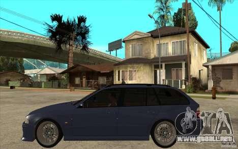 BMW M5 E39 530tdi Touring para GTA San Andreas left
