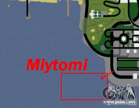 Miytomi para GTA San Andreas quinta pantalla