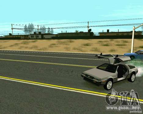 GTA 4 Road Las Venturas para GTA San Andreas novena de pantalla
