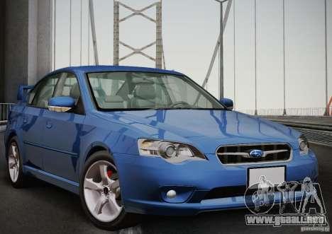 Subaru Legacy 2004 v1.0 para GTA San Andreas