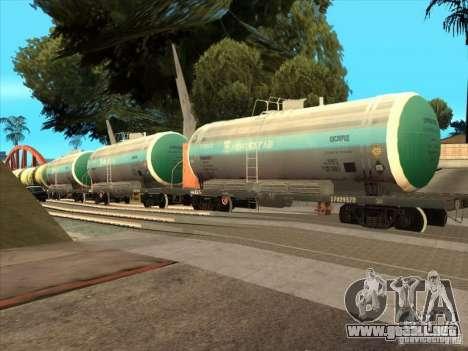 Tanque # 57929572 para la visión correcta GTA San Andreas