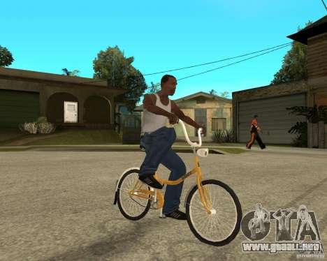 Cigüeña para la visión correcta GTA San Andreas