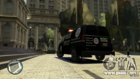 Noose Van V3 para GTA 4 left