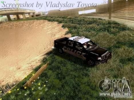 Ford F-150 Interceptor para vista lateral GTA San Andreas