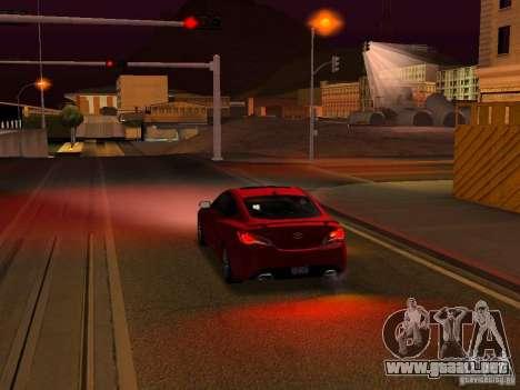 Hyundai Genesis Coupé 3.8 Track v1.0 para el motor de GTA San Andreas