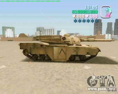 M 1 A2 Abrams para visión interna GTA San Andreas