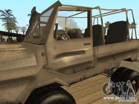 LuAZ 969 Offroad para la vista superior GTA San Andreas
