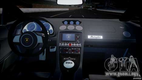 Lamborghini Gallardo LP560-4 DUB STYLE para GTA 4 visión correcta