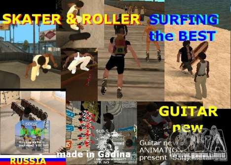 GTA SA SIMS real para GTA San Andreas segunda pantalla