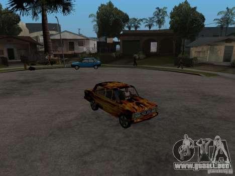 2106 VAZ del juego S.T.A.L.K.E.R. para la visión correcta GTA San Andreas