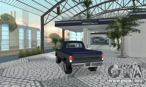 Dodge Prospector 1984 para GTA San Andreas left