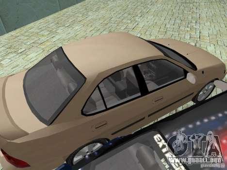 Nissan Sentra para visión interna GTA San Andreas