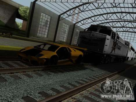 Crazy Trains MOD para GTA San Andreas séptima pantalla