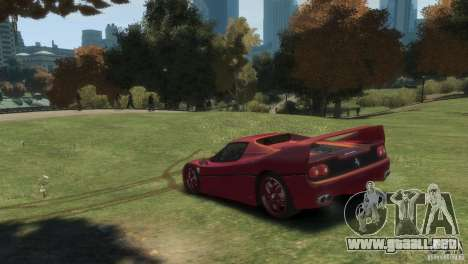 Ferrari F50 para GTA 4 left