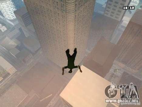 Parkour Mod para GTA San Andreas quinta pantalla