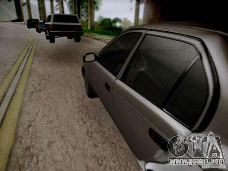 Toyota Corolla para la vista superior GTA San Andreas