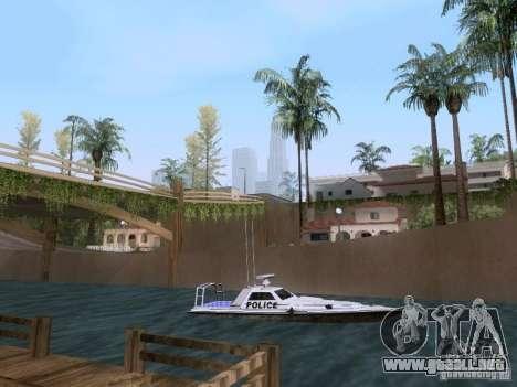 NEW Predator para GTA San Andreas vista posterior izquierda