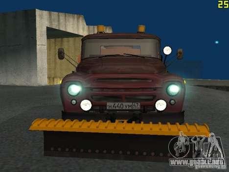 Ko-829 en beta chasis de camión ZIL-130 para GTA San Andreas left