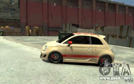 Fiat 500 Abarth Esseesse V1.0 para GTA 4 left