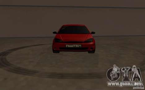 Ford Focus Light Tuning para visión interna GTA San Andreas
