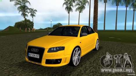 Audi RS4 para GTA Vice City