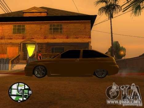 Vaz-2112 coche Tuning para visión interna GTA San Andreas