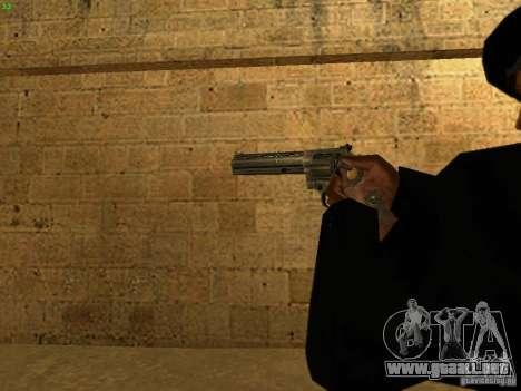 44.Magnum para GTA San Andreas sucesivamente de pantalla
