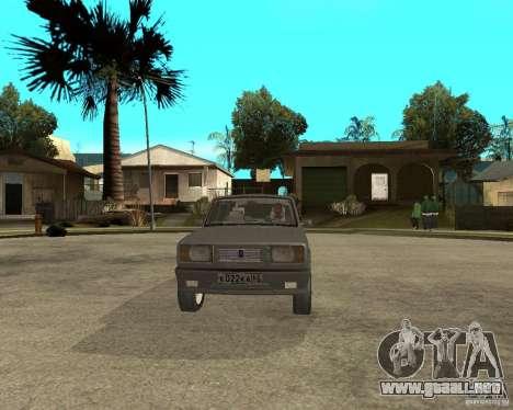 VAZ 2105 Limousine para GTA San Andreas vista hacia atrás